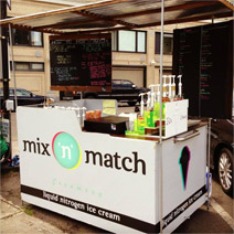 Mix 'n' Match Creamery Food Cart